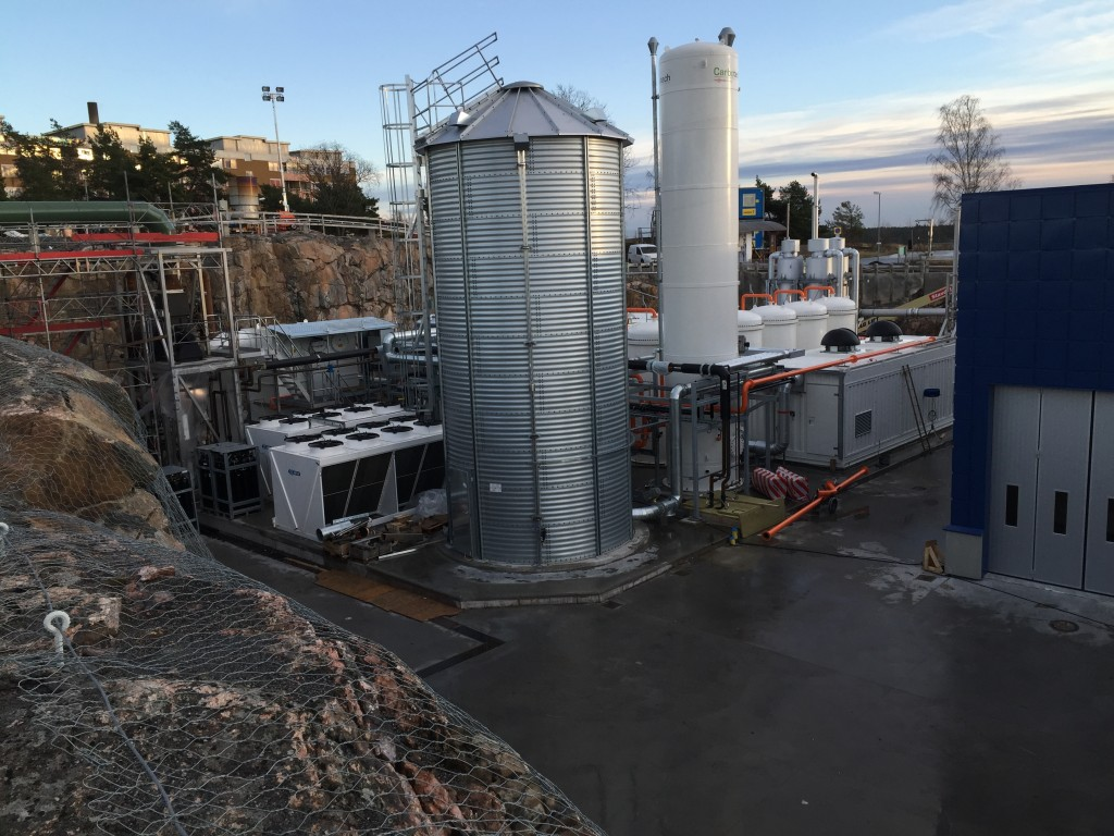 Gasuppgradering Henriksdals reningsverk