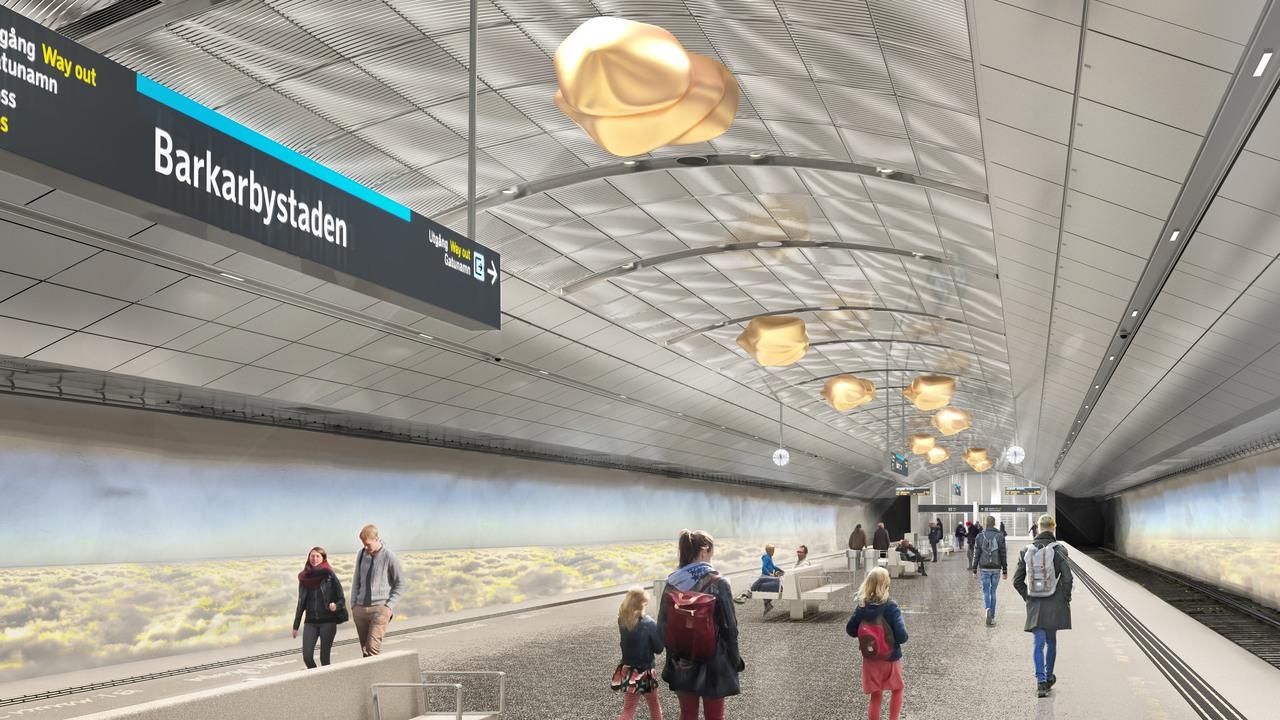 Nya tunnelbanan – Blå linje till Barkarby